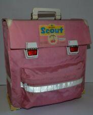Scout Cherry Vintage Schulranzen 80er Ranzen Tornister Rosa Kirsche Sternjakob