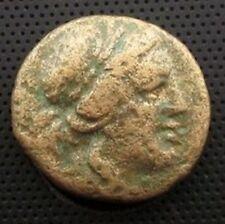 Greek Thessaly Athena Itonia spear shield Apollo wreath (STW)