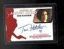 2014 James Bond Archives Teri Hatcher auto card