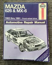 buy mazda 626 paper car service repair manuals ebay rh ebay co uk