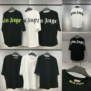 2020 Uomo Donne PALM ANGELS Manica corta PALM angels T-Shirt Camicie Felpa Polo