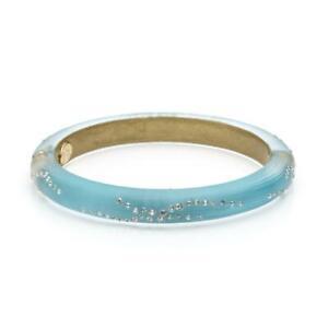 Alexis Bittar Crystal Encrusted Skinny Classic Lucite Bracelet