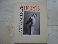 *RARE* OOP Will McBride BOYS 1986 photography male BOOK gay interest photobook