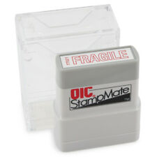 Officemate Pre Inked Self Inking Stamp For Office Or Business Fragile