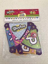 Shopkins Happy Birthday Banner 6ft Party Decoration Girl Supplies NIP