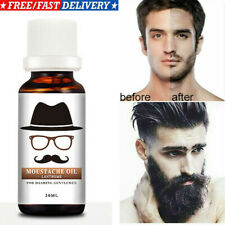 Men Beard Mustache Growth Oil Serum Grooming Growing Facial Hair Care Product US