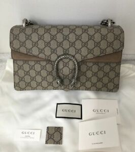 NWT AUTHENTIC GUCCI DIONYSUS GG SUPREME Shoulder Bag