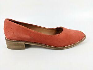 Seasalt Cornwall Suede Leather Slip On Shoes Uk 7 Eu 40
