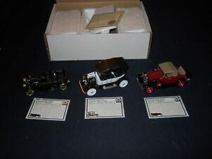 National Motor Museum Chevy- '15 5 Passenger'11 Classic Six, & '31 Sports 1:32