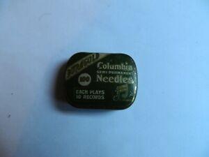 Columbia Semi-permanent   Gramophone   Needle Tin