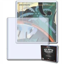 7 inch Single Vinyl Record (45RPM) Protective Rigid Toploader x 10 Pack