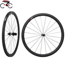 DT Swiss 350 Sapim Carbon Wheel 38mm Clincher Road Bike 700C UD Matt Rim 25mm