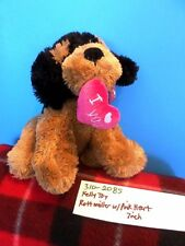 Kelly Toy Rottweiller with Pink Heart plush(310-2085)