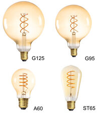 E27 5Watt 1800K warmweiß Filament LED Edison Retro Glühbirne Globe Dekorativ