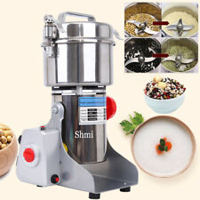 700g High Speed Electric Herb Grain Grinder Cereal Mill Flour Powder Machine