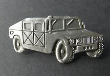 HUMVEE HMMWV LIGHT ARMORED TRUCK HUMMER VEHICLE LAPEL HAT PIN BADGE 2 INCHES