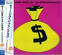 Teenage Fanclub Bandwagonesque, Japan CD Obi