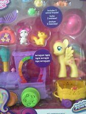 My Little Pony FLUTTERSHY Motorized Train Set Rainbow Power Hasbro NRFB NEW