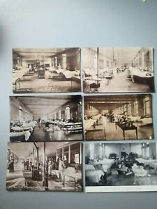 6 Leicester Hospitals Ward Cards Royal Infirmary Northern General Early