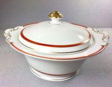 Schlesische Porzellan-mehrarmige-Suppenterrine