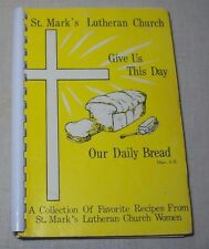 ST. MARK'S LUTHERAN CHURCH COOKBOOK 1979 HUNTSVILLE ALABAMA