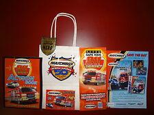 Matchbox Across America 50th Birthday Gift Bag Set ~ New!