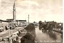 DOLO  -  Via Mazzini e fiume Brenta