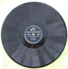 PERRY COMO & THE RAMBLERS 78 RPM RECORD 'SAY YOU'RE MINE AGAIN' & 'MY ONE AND..'