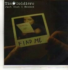(CO274) Tin Soldiers, Just What I Needed - DJ CD