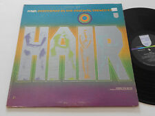 HAIR NM Original French Cast PGS 600-329 Philips Soundtrack theater Play theatre