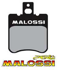 Paire Plaquette frein MALOSSI MBK Booster Spirit Next Bw's Bws Spy NEUF 6215042
