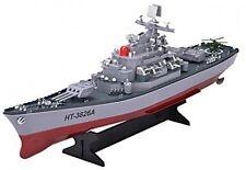 Remote Control Boat Navy Battleship USS RC Marine Warship Military Model Replica