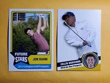 Combo lot 2019 Hot Shot Prospects card COLLIN MORIKAWA + JON RAHM 2015 Rookie