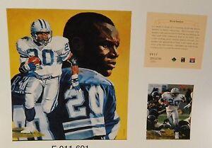 Barry Sanders Detroit Lions NFL11x14 Prints Hall Of Fame Oklahoma St 2 HOF