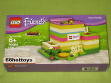 Lego 40080 Friends Pencil Holder New