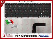Tastiera Italiana ASUS V111462AK1 IT X52J X53S X54C Nera