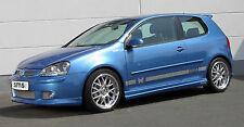 WRC VW GOLF 5 Seitenschweller Paar Schweller MAXI Spoiler R32 GTI Breitbau neu !