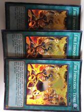 3x Edition Fire Formation Tenki THSF-EN057 Near Mint Super Rare 1st Ed
