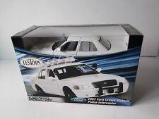 Testors METAL Model Kit #640015 2007 Ford Crown Victoria Police Interceptor Car