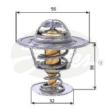GATES Thermostat Kühlmittel Fiat Fiorino FIAT 127 128 1.1 130 3.2 147 1.3