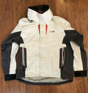 Gill KB1 Keel Boat Racer Foul Weather Sailing Jacket Offshore Spray Gear Large