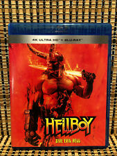 Hellboy (1-Disc Blu-ray,2019)Reboot.Milla Jovovich/Mike Mignola.Dir<Dog Soldiers