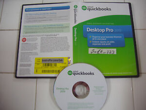 INTUIT QUICKBOOKS DESKTOP PRO 2019 FOR WINDOWS FULL RETAIL US VERS. =SEALED BOX=