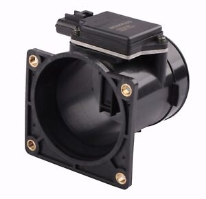 Aintier Air Sensor Mass Air Flow Sensor MAF Replacement Fit for 1999 2000 2001 2002 2003 Ford F-250 F-350 F-450 F-550 Super Duty 1999-2002 Lincoln Navigator Blackwood AFLS158A XR87309A