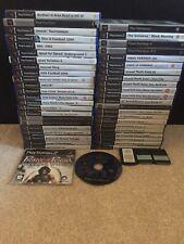 Playstation 2 Games Bundle 50 Games Kingdom Hearts 2 Sealed & More
