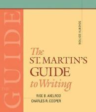 VG WRITERS GUIDE BOOK TO WRITING,7th ED:HOW TO WRITE BETTER-NARRATION,RESEARCH+M