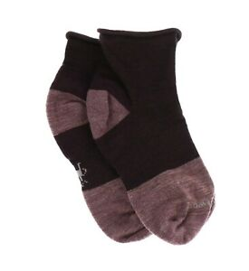 Smartwool 251658 Womens Luna Mini Boot Socks Bordeaux Heather Size Small