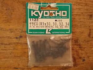 1123 F.H Screw (M3) 3mm Flush Head - Kyosho Vintage Hardware