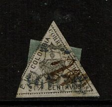 Colombia SC# 36, Used, Hinge Remnant, very minor crease - S11094