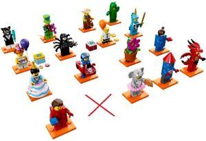 LEGO 71021 Serie 18 PARTY 16 Figuren NEU ohne Policeman MiniFigs Figures